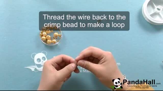 آموزش ساخت گردنبند با مهره