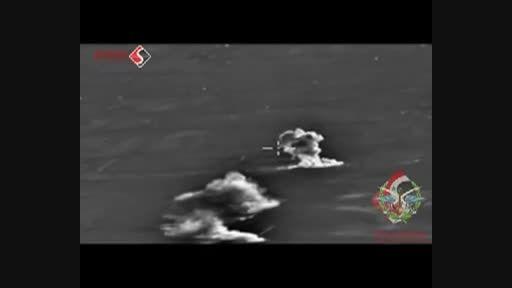 تشدید حملات جنگنده های ارتش روسیه به داعش در سوریه