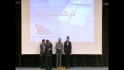 اهدای تندیس کیفیت توسط مسئولین به مهندس ابوالفضل بهرامی پور مدیرعامل شرکت الکترو صمصام