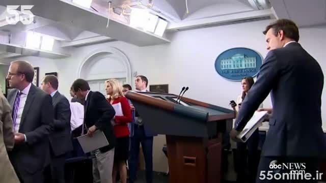 لحظه تخلیه کاخ سفید به دنبال تهدید بمب گذاری