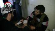 القصیر - بیمارستان صحرایی تروریستها پیش از آزاد سازی شهر