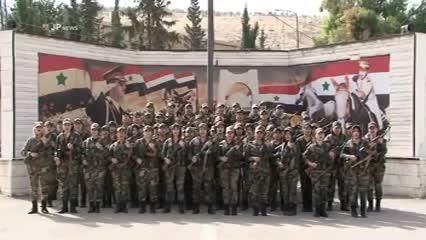 شیر زنان گردان المَغاویر گارد ریاست جمهوری سوریه