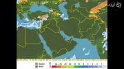 بارش 12 دی تا 19 دی 93 (هواشناسی چهارفصلwww.hava4.ir)