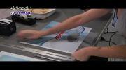 تهیه نمونه بسته بندی مواد غذایی با دستگاه میماکی