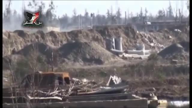 دیرالزور - تصرف مقر داعش توسط ارتش سوریه در المریعیه