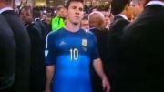 لیونل مسی بهترین بازیکن و مانوئل نویر بهترین دروازه بان