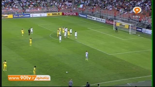 خلاصه بازی: الاهلی ۲-۱ نفت تهران (صعود نفت به یک چهارم)