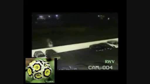 حادثه پرت شدن اتومبیل به آسمان