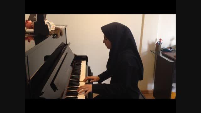 پیانیست جوان-میترا خدادادی-لیبر تانگو(آستور پیاتزولا)