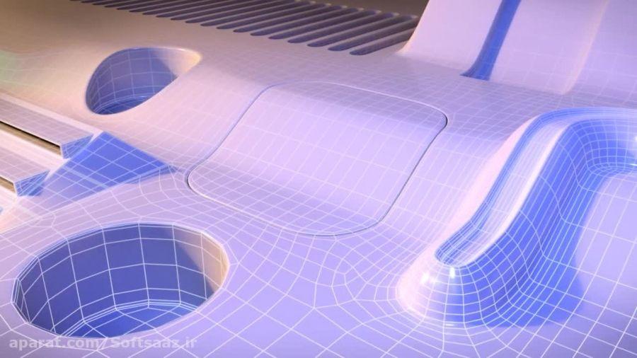 مدلسازی اشکال پیچیده در مایا