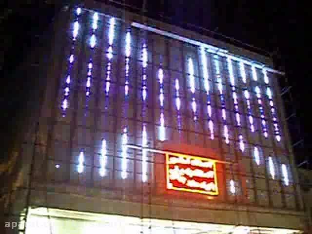 طراحی و اجرای نور دیجیتال-پاساژ بزرگ مفیدی