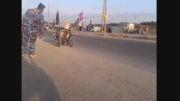 زائر معلول در پیاده روی اربعین حسینی 2014