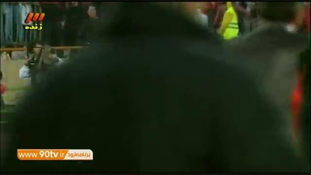 گل تساوی پرسپولیس به استقلال در دقیقه 95