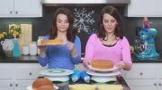 اموزش درست کردن کیک انا و السا
