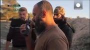 بمباران خودروی ابوبکر البغدادی و فرماندهان داعش- سوریه