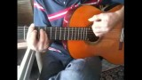 گیتار تلفیقی بلوز.کانتری.یه قطعه در گام بلوز