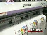 چاپ و برش با یک دستگاه - ساخت ژاپن