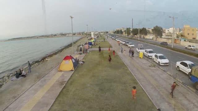 تصویربرداری  هوایی ایام نوروز 1394 دربوشهر