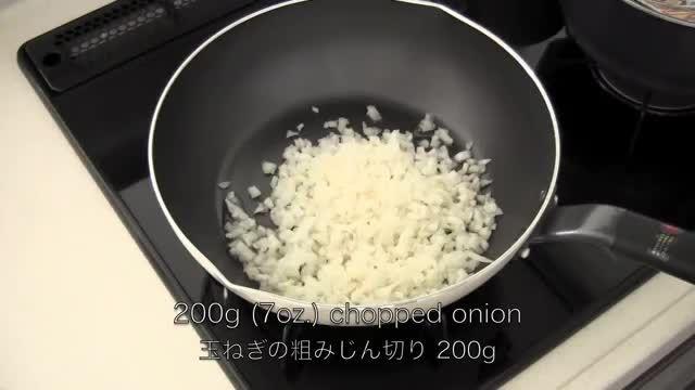 طرز تهیه ی املت برنج-غذای کره ای ژاپنی