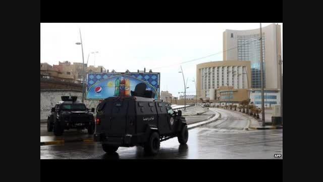 حمله انتحاری داعش به هتلی در طرابلس پایتخت لیبی