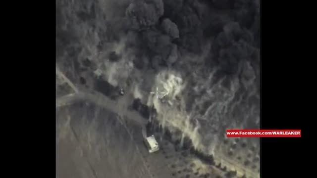 اولین حملات هوایی روسیه علیه تروریست های سوری