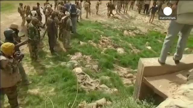 کشف اجساد بجامانده از یک کشتار دسته جمعی در نیجریه