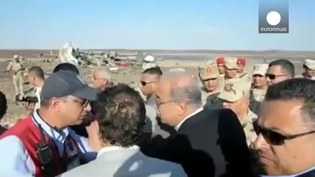 داعش مسئولیت سقوط هواپیما روسیه را پذیرفت