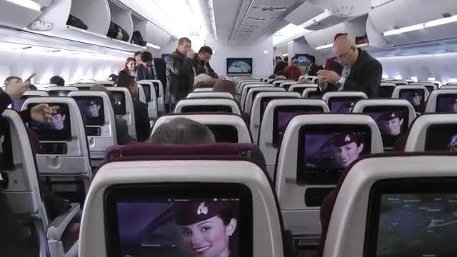 تحویل اولین ایرباس  A350 به هواپیمایی قطر