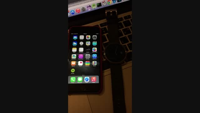 امکان اتصال ساعت هوشمند Moto 360 به آیفون6 فراهم شد