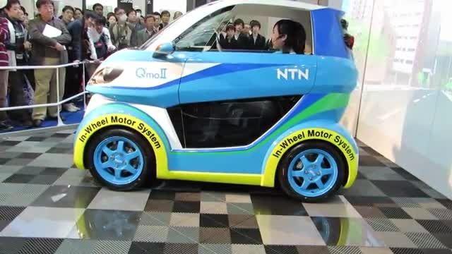 سیستم موتور داخل چرخ برای وسایل نقلیه برقی