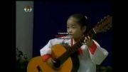 کانگ ایونجو* دختر گیتاریست 6 ساله در کره شمالی