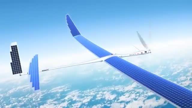 هواپیمای اینترنت دار و خورشیدی گوگل