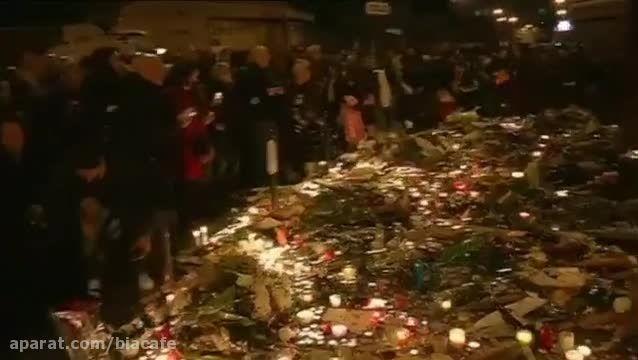 کلیپ لحظه انفجار بمب در پاریس توسط داعش