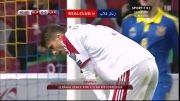 گل های بازی اوکراین 2-0 بلاروس (مقدماتی یورو 2016)