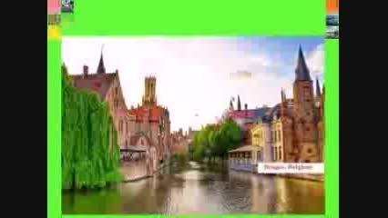 #مناظر زیباترین شهرهای کوچک جهان #طراحی ویلا
