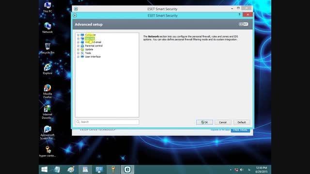 قطع ارتباط برنامه ها با اینترنت توسط آنتی ویروس نود 32