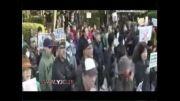 طرفداران آزادی مطبوعات تظاهرات کردند