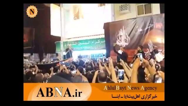 برافراشته شدن پرچم عزای امام حسین(ع) در منامه بحرین