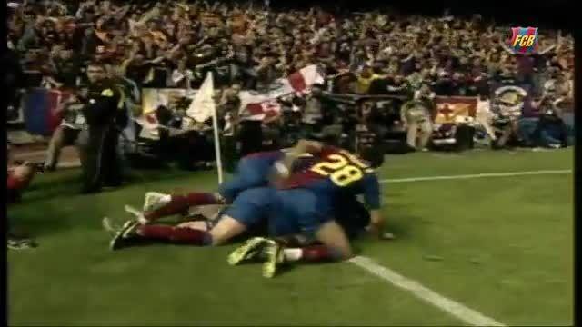 گل های لیونل مسی در فینال های جام حذفی