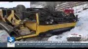 -18کشته در سقوط اتوبوس به دره هراز -29 بهمن92