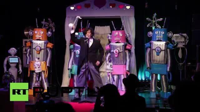 اولین مراسم ازدواج میان روبات ها در ژاپن