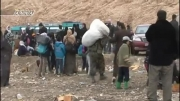 کمک ارتش سوریه به آوارگان سوری :(