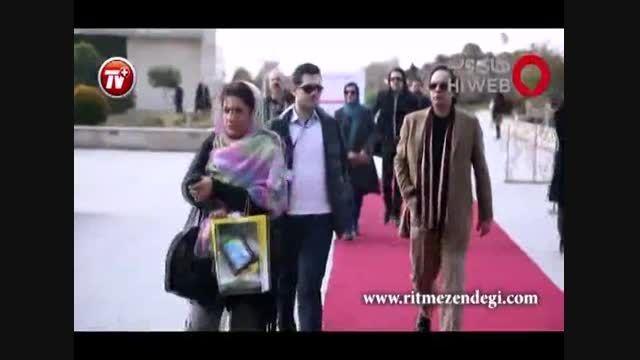 """مراسم افتتاحیه فیلم """"رخ دیوانه""""در 33امین جشنواره فجر"""