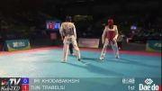 مهدی خدابخشی و تربلسی از تونس - تکواندو قهرمانی جهان