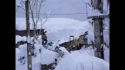 برف بی سابقه در 50 سال اخیر