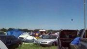 باد شدید و بردن چادرهای مردم به هوا (اخر خنده )