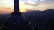 پرواز بر فراز برج میلاد تهران