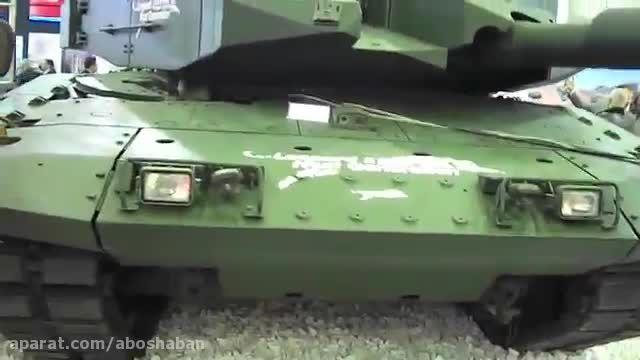 تانک اصلی میدان نبرد Leopard ۲NG ترکیه