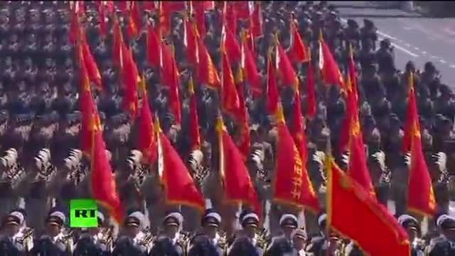 رژه تحسین برانگیز ارتش چین 2015