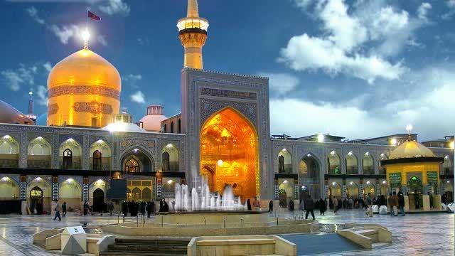 نماهنگ امام رضا(ع)با صدای کربلایی رحمت الله رحیمی پور